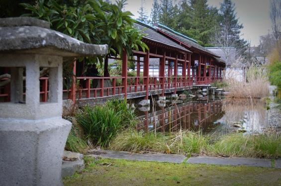 Maison de l'Erdre située au cœur du jardin Japonais de l'Ile de Versailles à Nantes