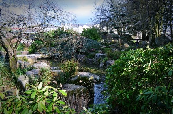 Le Jardin De L Ile De Versailles Un Petit Bout De Japon A Nantes