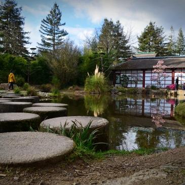 Maison de l'Erdre du jardin Japonais situé sur l'île de Versailles à Nantes