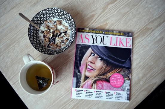 réveil en douceur, skinnyMint teatox, As you like magazine