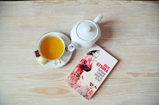 Lecture, livres, thé, Nantes, Julie Otsuka Certaines n'avaient jamais vu la mer