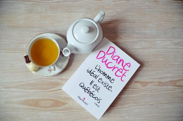 Lecture, livres, thé, Nantes, Diane Ducret, l'homme idéal existe