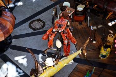 Carrousel des Mondes Marins, Nantes, voyage à Nantes, Machines de l'île