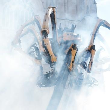 Kumo araignée géante, Compagnie La Machine, Machine de l'île, Nantes