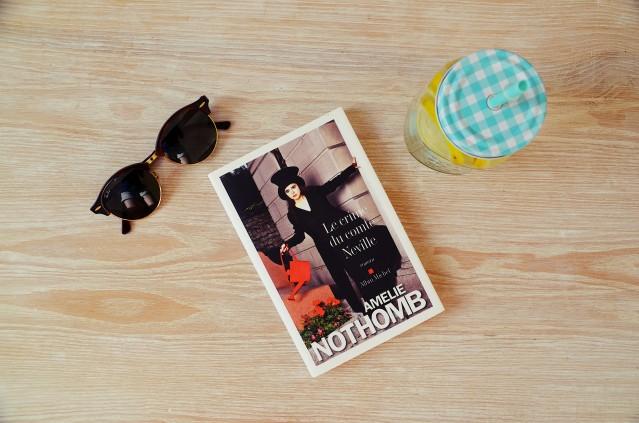 Le crime du comte de Neville, Amélie Nothomb,Nantes, lecture, blog