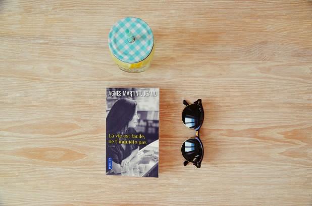 La vie est facile ne t'inquiète pas, Agnès Martin-Lugand, blog lecture Nantes
