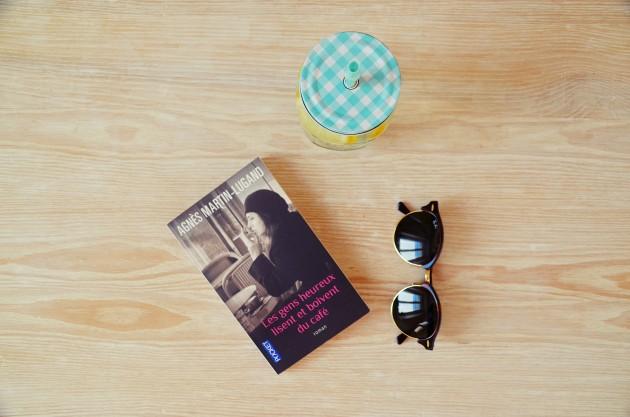 Les gens heureux lisent et boivent du café, Agnès Martin-Lugand. Lecture, blog