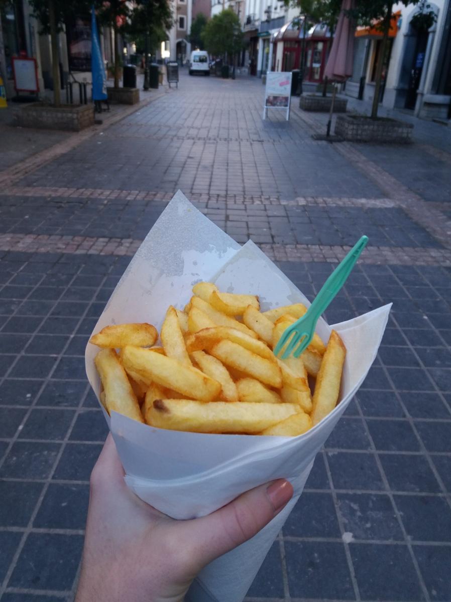 """J'ai testé pour vous: Manger """"les meilleures frites du monde"""""""